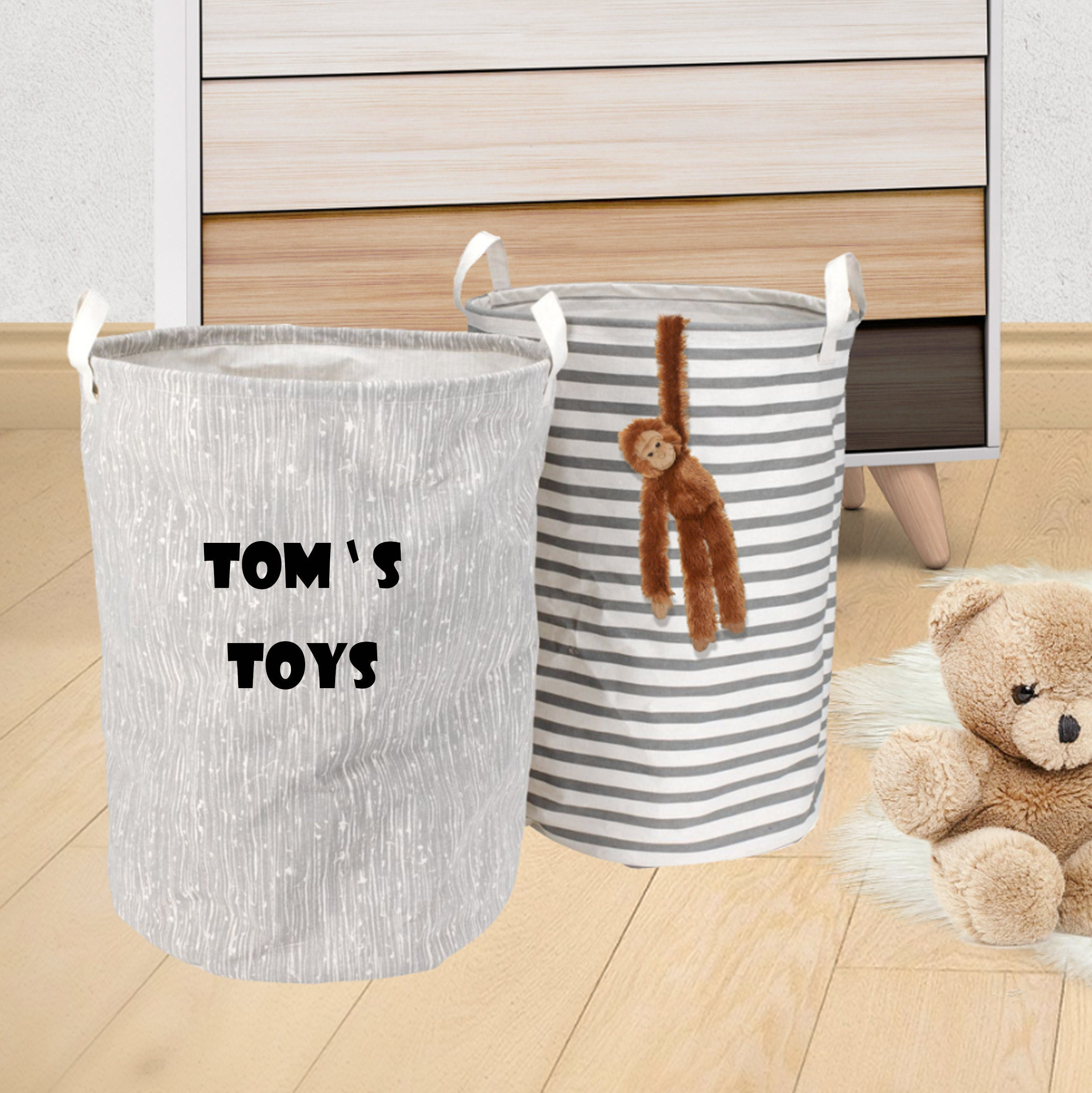 My Toys Nursery Storage Basket, Nursery decor, Kid\'s Toys ...
