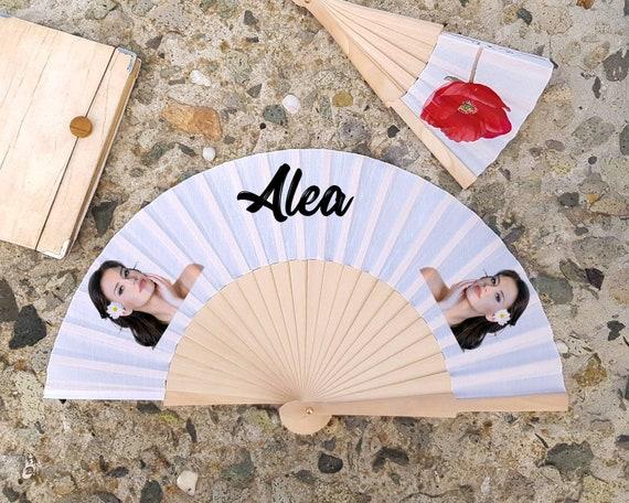 Bride Handfan , Personalized Hand Fan, Custom Name Gift, Bride Hand fan, Wedding hand fan, Maid of Honor gift