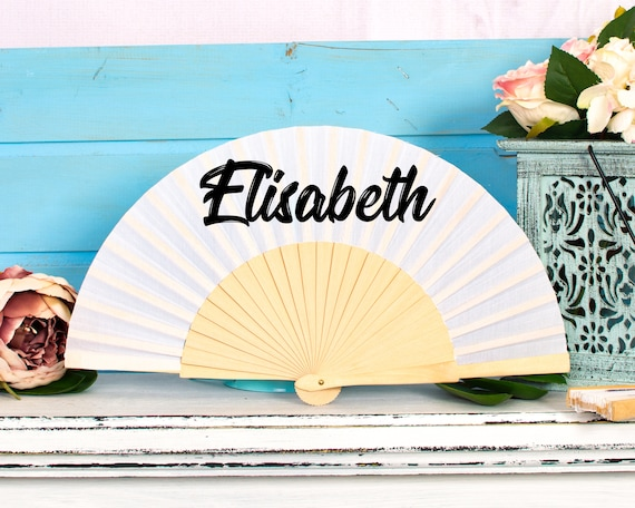 Custom Hand Fan for brides , bridemaid proposal, Custom Hand Fan, Bride Hand fan, Folding Hand fan, Summer Wedding