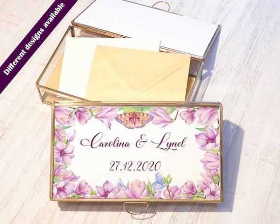 Rustic Gold Wedding Post Box, Wedding Cards Box, Wedding Supplies, Rustic Wedding Decorations, White Gold Script Post Box, Gold Wedding