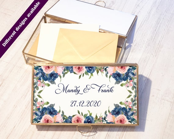 Wedding Card Box. Geometric Glass Wedding Display Box. Glass Terrarium. Wedding Envelope Holder Box. Wedding decor. Wedding Card Holder