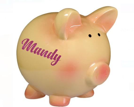 Large piggy bank, Ceramic piggy bank, Modern piggy bank, Housewarming gift, Wedding gift, Office decor, PIGZ