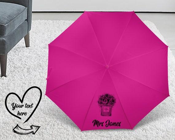Custom Umbrella, Personalized Umbrella, monogram umbrella, personalized gift, teacher gift, personalised umbrella U5