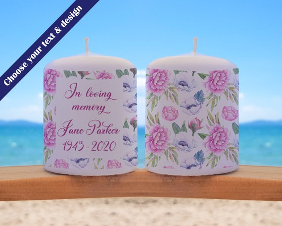 Thinking of You Candle, Condolence Gift, Missing You Gift, Sympathy Gift, Personalized Gift, Thinking Of You Gift, Get Well Gift, Present