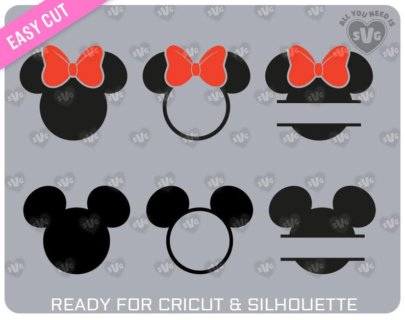 MINNIE MOUSE svg  MICKEY Mouse svg For cutting machines image 0