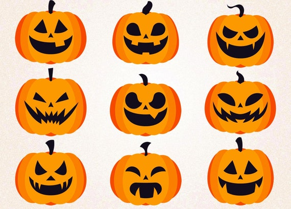 image about Printable Pumpkin Face referred to as Halloween Pumpkins SVG PNG/autumn pumpkin svg/autumn svg/halloween svg/pumpkin experience/halloween decoration/pumpkin svg/pumpkin printable/decal