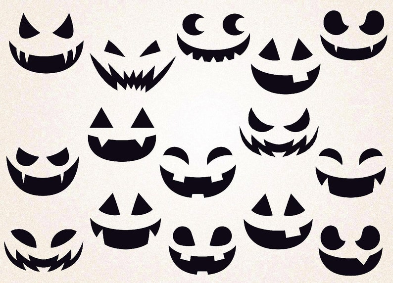 picture relating to Printable Pumpkin Face titled Pumpkin Faces SVG/pumpkin faces png/halloween svg/pumpkin svg/pumpkin faces template/printable/pumpkin afces decal/pumpkin faces lower/overwhelming
