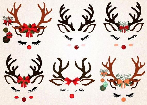 graphic about Printable Reindeer Face identified as Reindeer Experience svg/reindeer facial area printable/reindeer svg/xmas svg/xmas printable/xmas decoration/reindeer lower/xmas slash