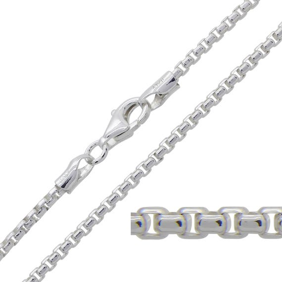 """28/"""" Sterling Silver .925 Chain Necklace Compact Snake Jewellery Chain 16/"""""""