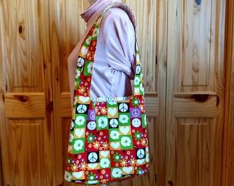 Swingy Shoulder Bag, Handbag, Hobo Bag