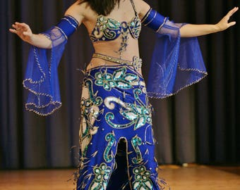 5b9ac9654c78 Egyptian professional belly dance costume, Bellydance Dress Custom-made,  Gypsy oriental dance, bauchtantz , danse orientale outfit, Handmade