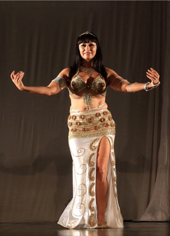 New Belly Dancing Egyptian professional belly dance costume made any color