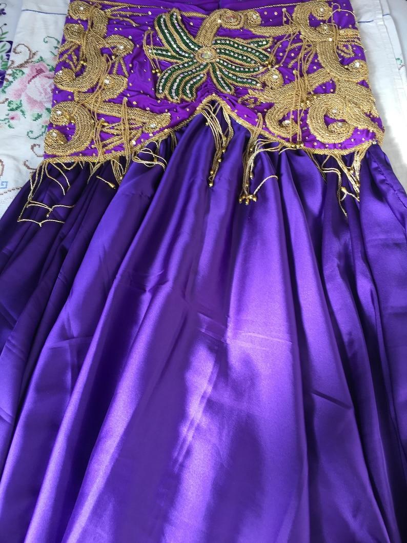 danse orientale outfit Bellydance Dress Custom-made Gypsy oriental dance Handmade Egyptian professional belly dance costume bauchtantz