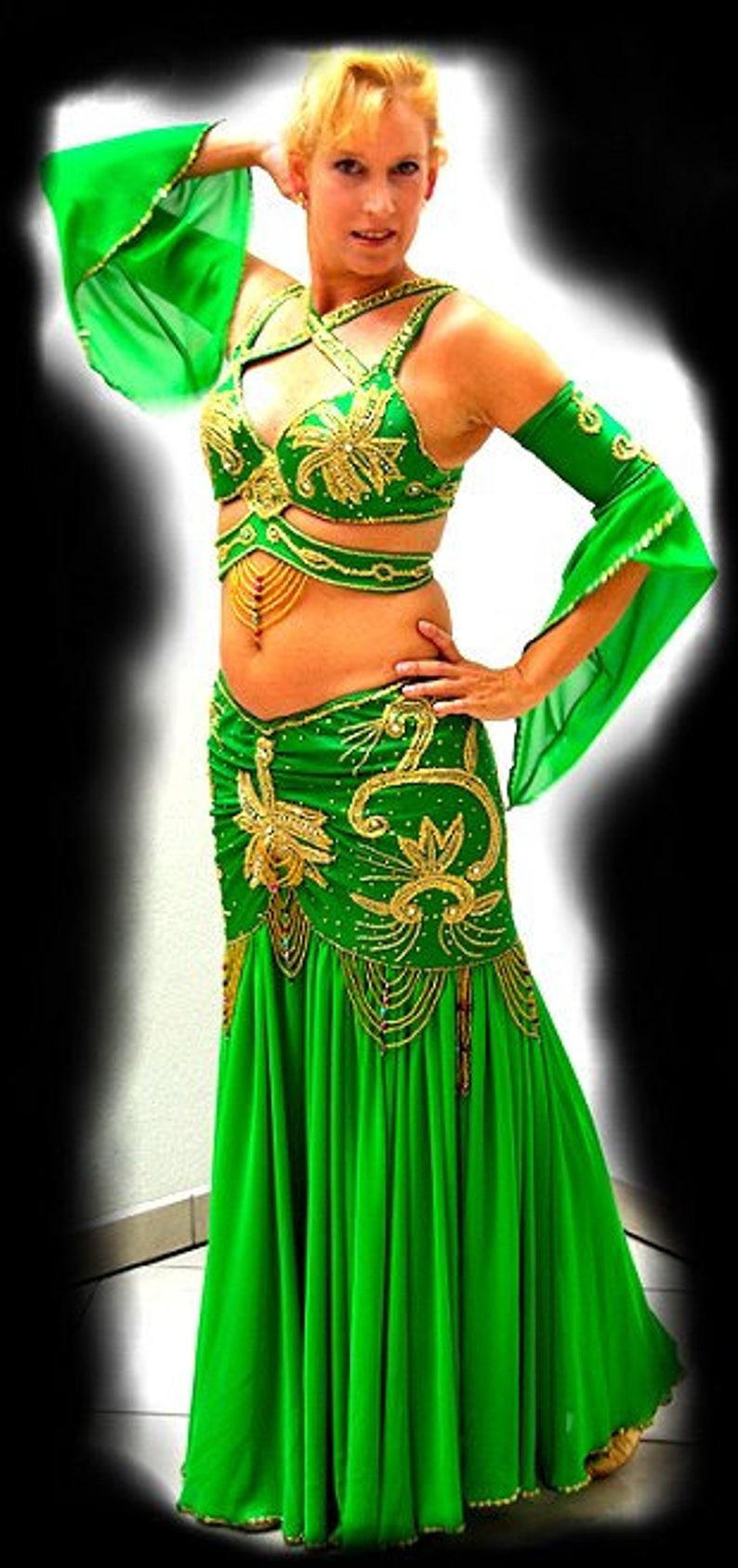 f8197728eb Egipski zawodowych Taniec brzucha kostium Bellydance sukienka