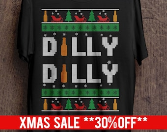 more colors dilly dilly ugly christmas sweater