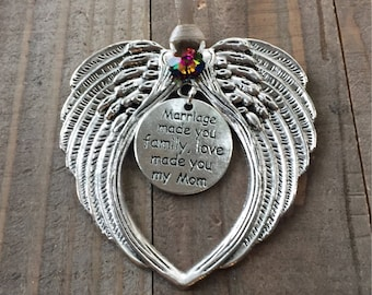 Mother In Law Ornament Gift Angel Love Welcome To The Family New