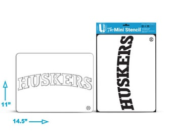 Nebraska Herbie \u2013 Lawn Stencil Kit