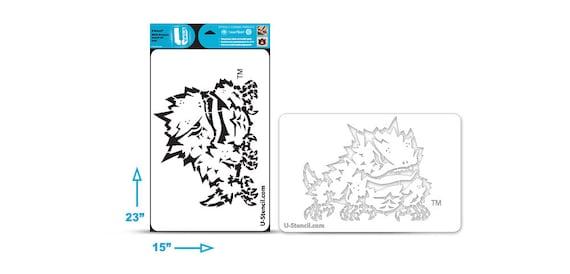 TCU Frog \u2013 Multi-Purpose Stencil