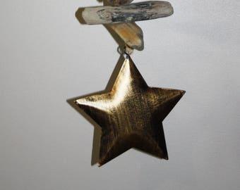 Driftwood - copper star Garland