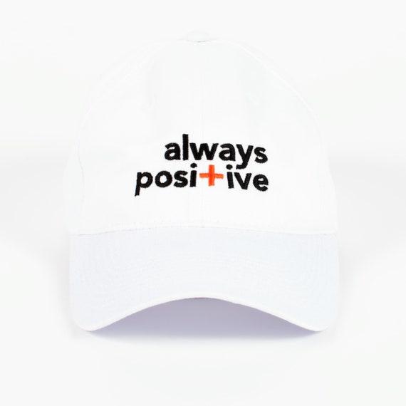 Baseball Cap Sayings Baseball Hat for Men Positive Hat  54f9de74ff7