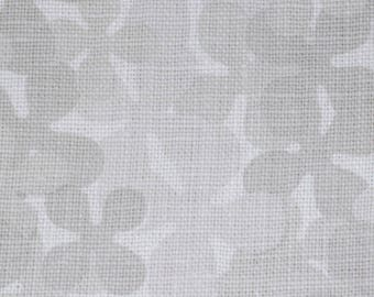 Textiles | Flower pattern in grey | 100% Libeco linen | interior decoration