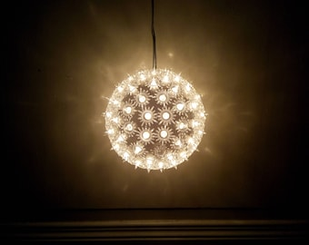 Ball hanging bright leds