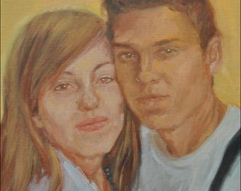Personalized portraits in oil and acrylic