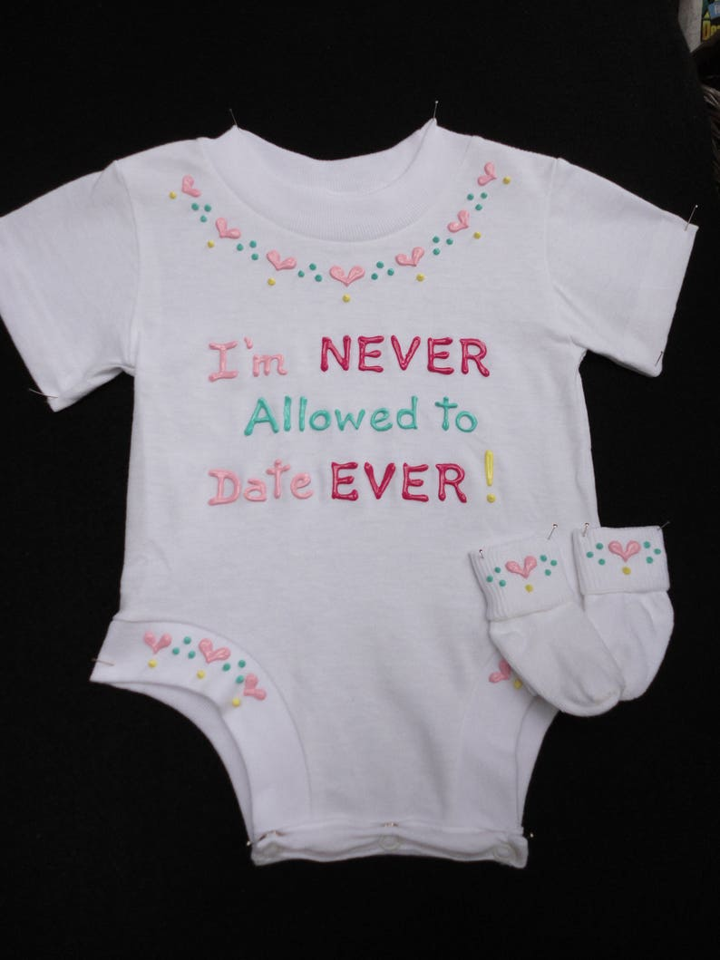 e9cab5b39c82 Baby Girl Gift Onesie Gift Set Gift from Daddy Personalized