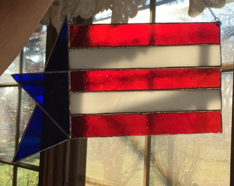 adfd7baec059 Stained glass flag