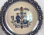 Dinnerware, Johnson Bros. Staffordshire England, Old Granite. quot Hearts and Flowers quot Bread Butter plates. 6.1 4 quot