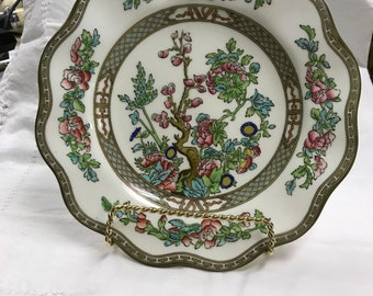 "Coalport,  Indian Tree  One  9"" plate bone china"