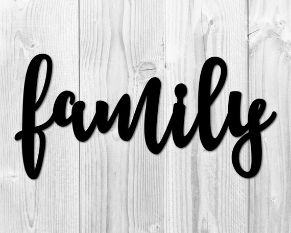 Family wood sign 36X12 wframe Family medium wood Family sign Farmhouse wall decor Farmhouse family sign Family Sign farmhouse sign