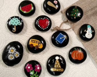 Variety story stones