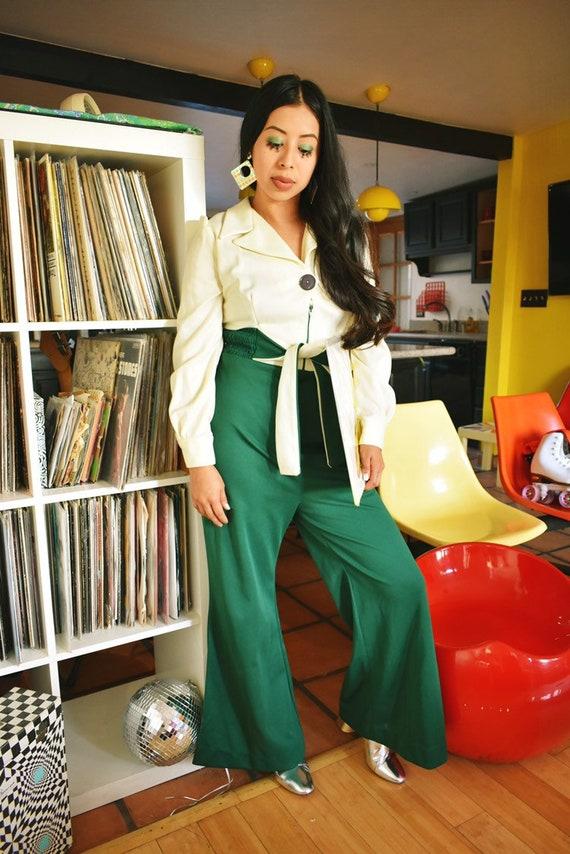 Vintage 1970s Disco Jumpsuit - image 5