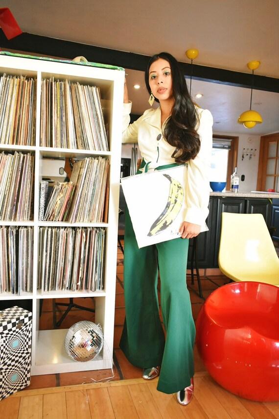 Vintage 1970s Disco Jumpsuit - image 4