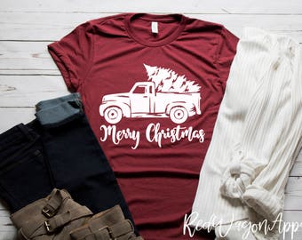 fded9814ff2 Merry Christmas Rustic Truck