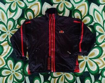 4142ed56d64f VINTAGE ADIDAS JACKET    Adidas 90 s    Training Jacket    Sportswear     Big Logo    Zipper