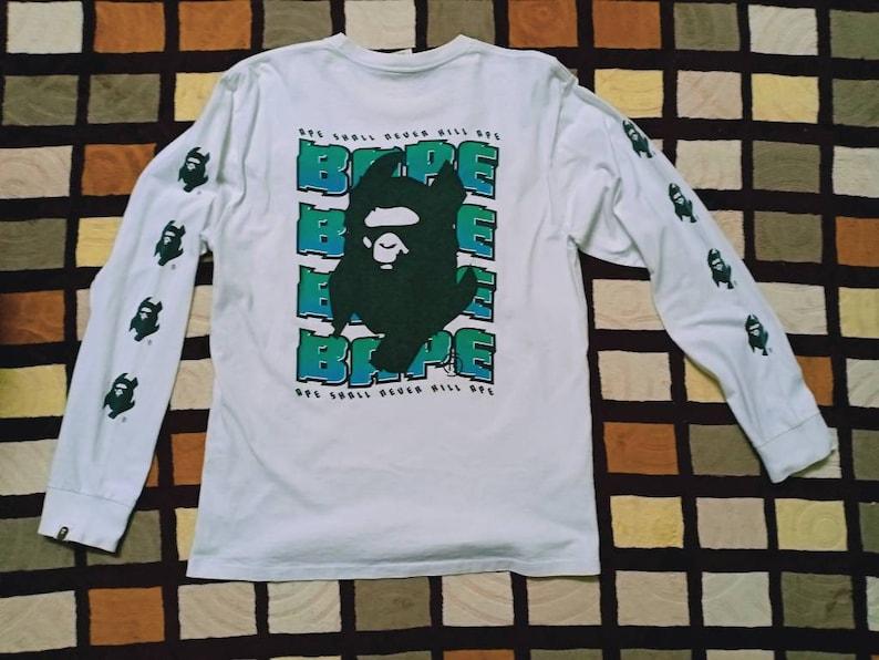 6330fe99d A BATHING APE Vintage T-shirt // Bape Big Logo // Very Nice | Etsy
