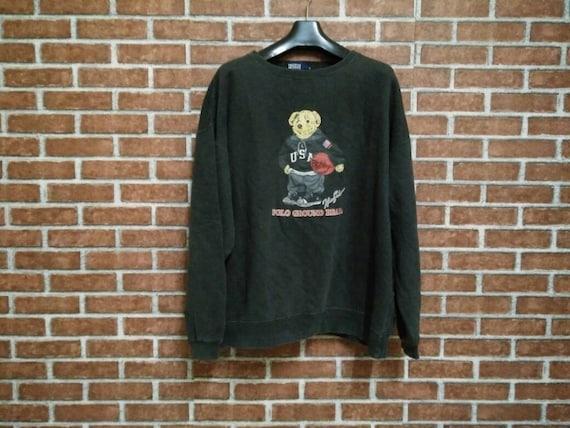 77f32d615 20% OFF POLO Bear Vintage Sweatshirt  Black