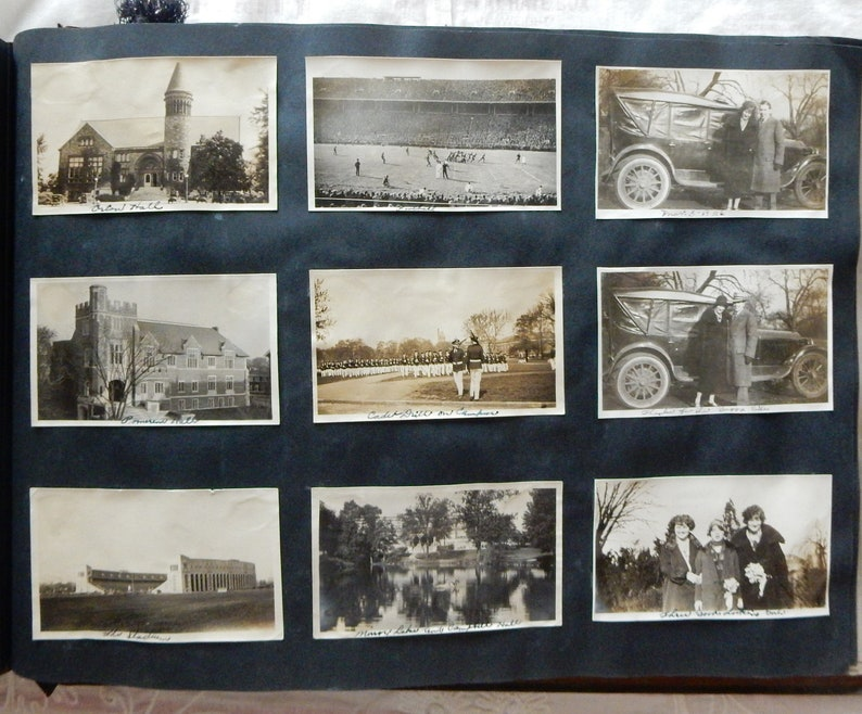 Ohio State Antique College Years in Huge Album 1920/'s