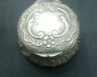 Ethnic Silver gift box