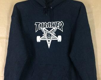 Thrasher Skateboard Sweatshirt Hoodies Medium Size c20f3bd8d