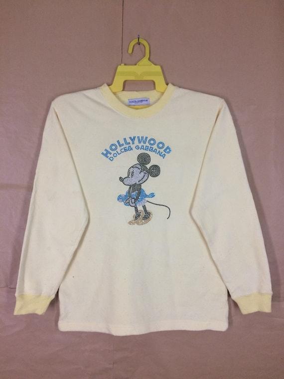 Rare!!! Dolce & Gabana Hollywood Minnie Mouse Swea