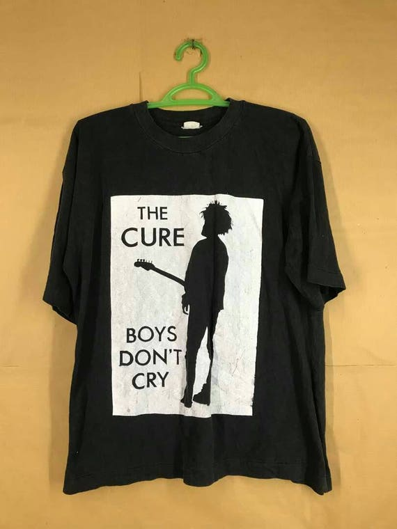 Vintage Early 80s The Cure Band T-shirt Post Punk