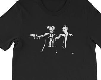 416209c9 Nietzsche and Schopenhauer - Funny Philosopher Shirt