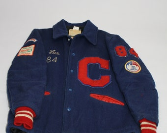 3e52896396 Vintage 1984 Made in USA Carroll Marching Band Jacket