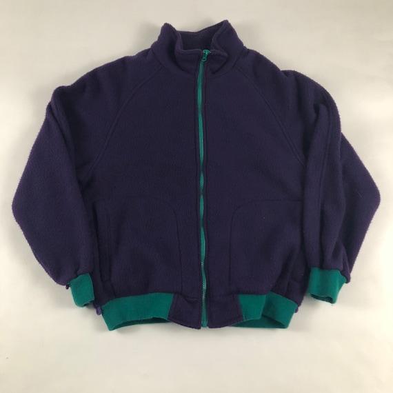 Vintage 1990s Fleece Jacket