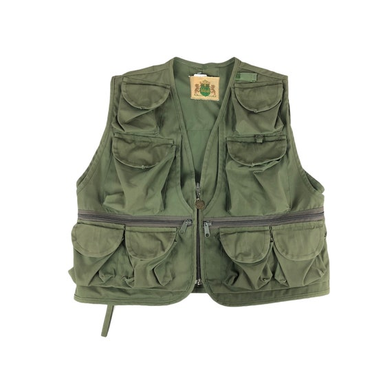 Vintage 1980s Ideal Fishing Vest