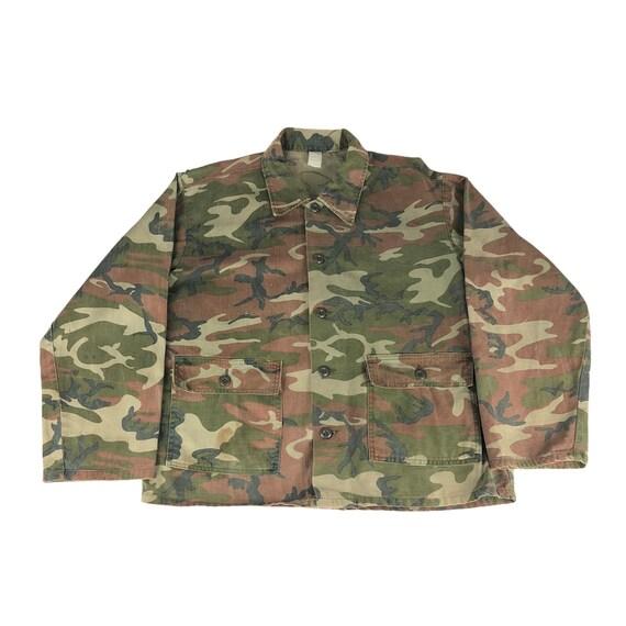 Faded Woodlands Camo Jacket