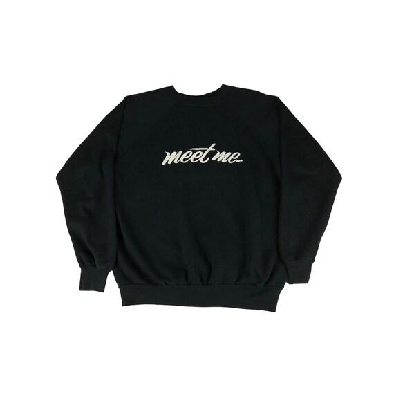 1980s Meet Me in the Woods Raglan Sweatshirt